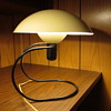 Authentic Mid-Century Modernistic Dome Table/Wall Lamp