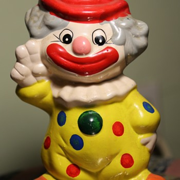 Cute Little Clown Bank