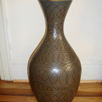 Jane Parshal- branch bottle? - Art Pottery