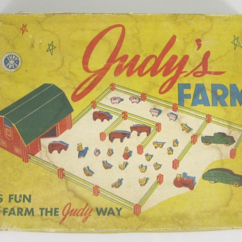 Judy&#039;s Farm Set