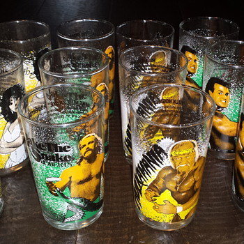 WWF Drinking Glasses
