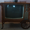 Packard Bell Cart Television