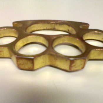 Vintage Brass Knuckles - Tools and Hardware