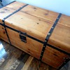 Civil War Era Trunk Refinished