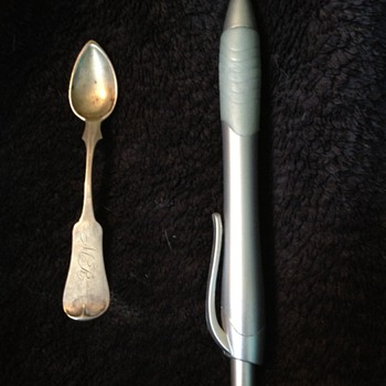 Doll's Coin Silver Spoon?   - Sterling Silver