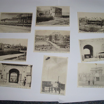 A few more photos of the Legations and Military Camps. Peking. 1911