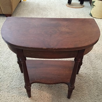 My favorite little table--what is it?