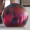 Tiffany Rainbow Oil Spot Favrile American Glass Paperweight