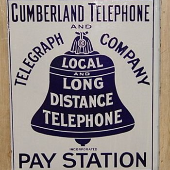 Cumberland Telephone and Telegraph Company Pay Station - Telephones