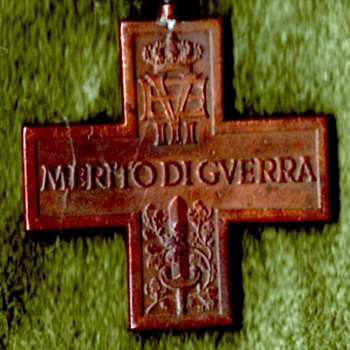 WWI Italian War Merit Cross with Sword