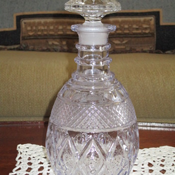 Imperial Glass Cape Cod Decanter circa 1930