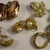 More Costume Jewelry Earrings 1950&#039;s &amp; 60&#039;s