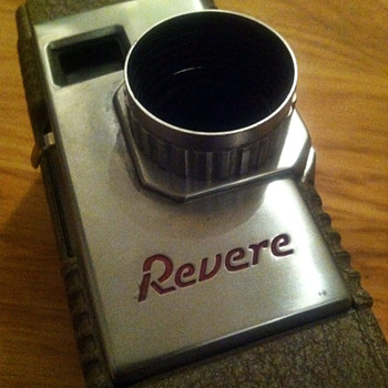 Revere Eight Model Fifty Movie Camera - Cameras