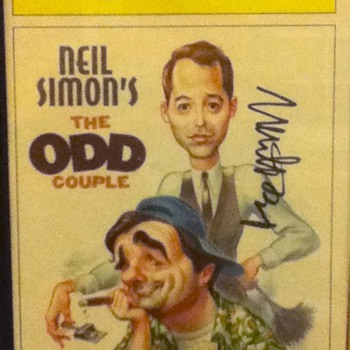 Matthew Broderick Signed Playbill - Movies