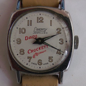 1954Davy Crockett Wrist Watch