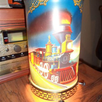 1950 Train lamp. - Lamps