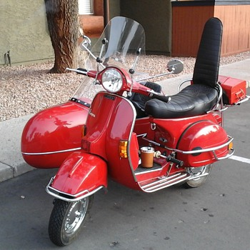 my little red scoot - Motorcycles