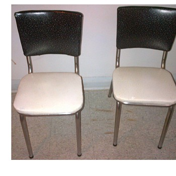 Morris Chrome MFG. LTD. Chairs.