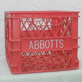 Abbott's Dairy Milk Crate