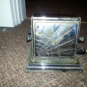 Spiderweb Toaster...beat up but still works!