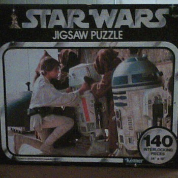 70's STAR WARS PUZZLE - Games