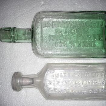 Newcastle Medicine Bottles