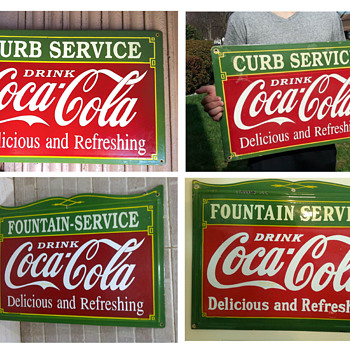 Signs Show & Tell Items on CollectorsWeekly com