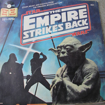 Star Wars -- The Empire Strikes Back Book and Record - Records