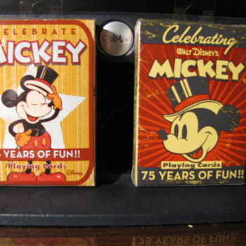 Mickey Mouse Playing Cards - Cards