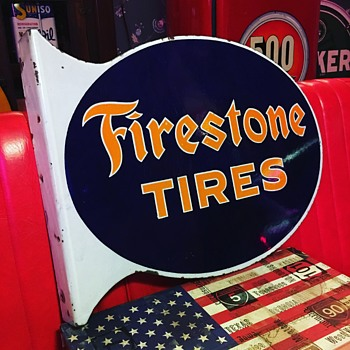 1930's Firestone Tires - Signs