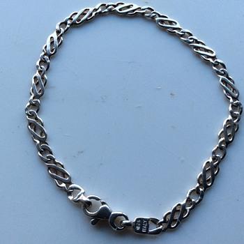 Vintage silver bracelet
