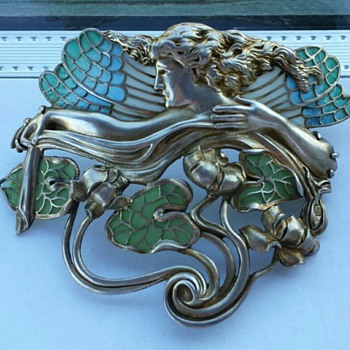 My introduction to Art Nouveau!  - Art Nouveau