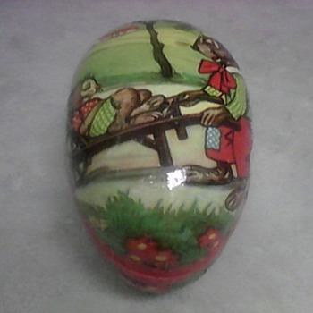 VINTAGE CANDY CONTAINER - Animals
