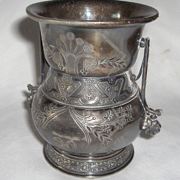 Old Brolen Art Nouveau Silverplate Pickle Castor Container - Art Nouveau