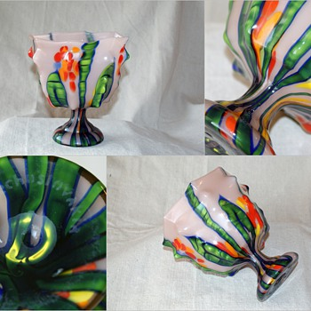 Kralik Bambus Knuckle vase - Art Glass