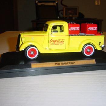 A full load in a die-cast truck.