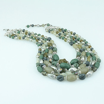 Glass necklaces - Costume Jewelry