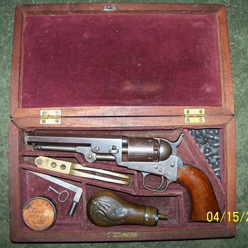 1849 Colt Pocket Pistol - Military and Wartime