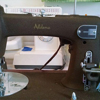 Aldens sewing machine.   - Sewing