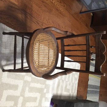 Wooden chair  - Furniture