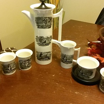 Made in England Tea Set
