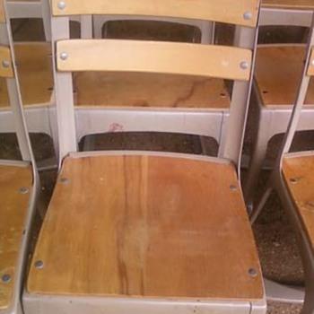 Vintage school chair ?