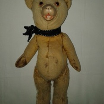 Old Teddy Bear - Dolls