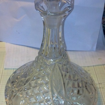 Beautiful Glass Decanter