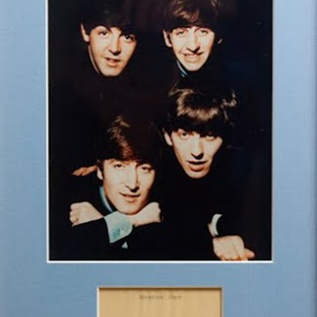 Beatles Hair... - Music Memorabilia