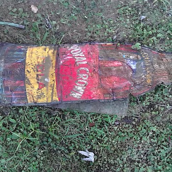 vintage rc cola sign