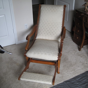 Recliner-origin unknown (What is it?) - Furniture