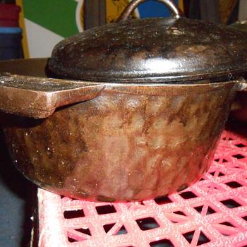 Unmarked Hammered Cast Iron - Kitchen