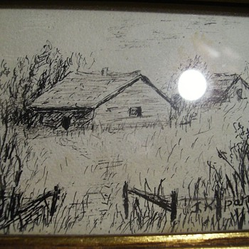 ART -- Small Ink Drawing - Visual Art