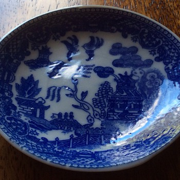 Antique small plate